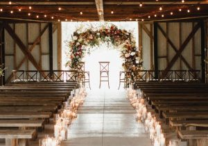 wedding aisle decorations